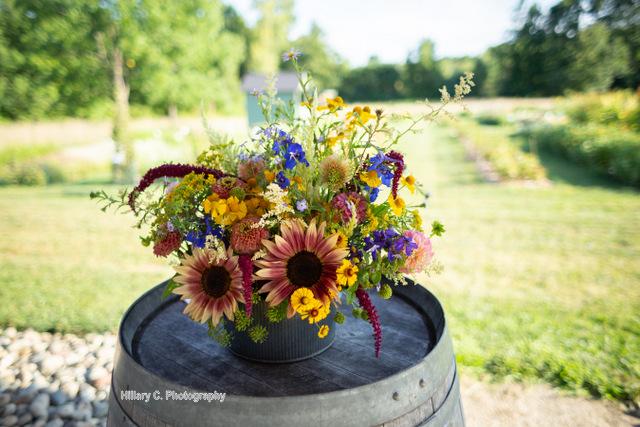 Flowery Evening 3:  September Gold