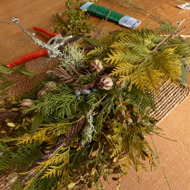 Winter Wreath Making--Morning Session
