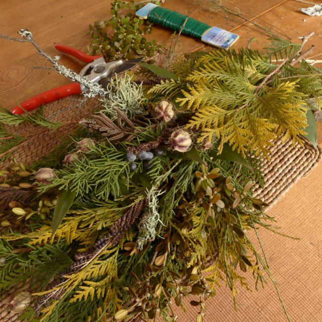 Winter Wreath Making