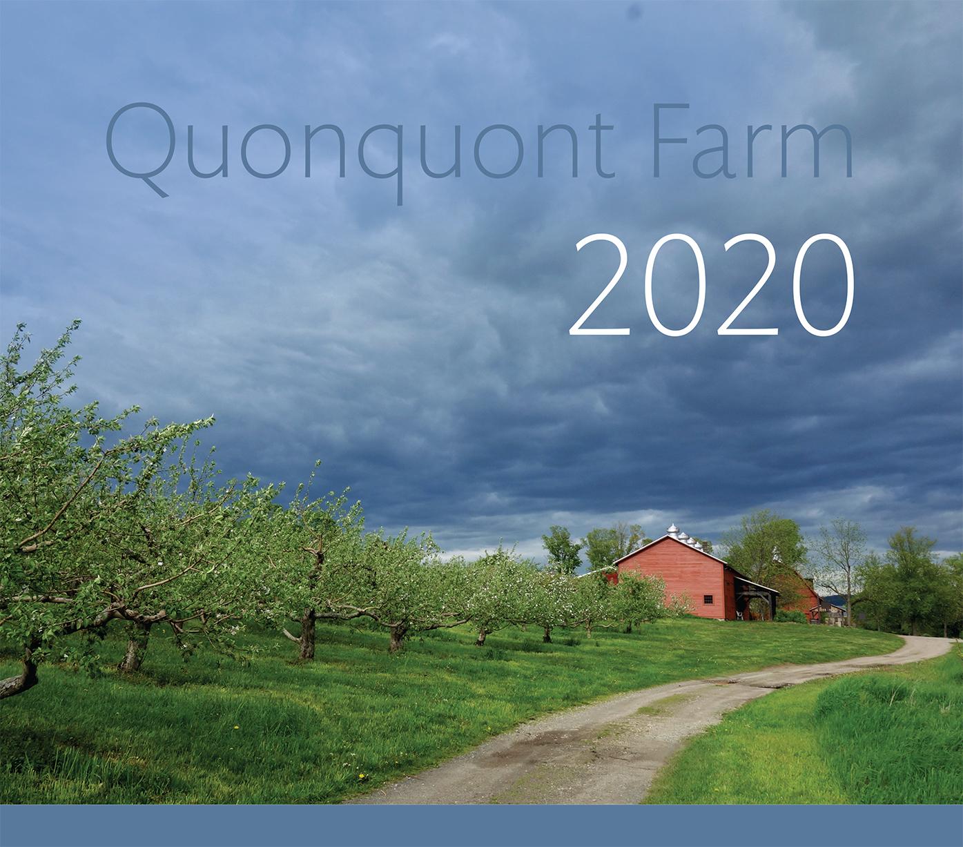 Quonquont Farm 2020 Wall Calendar