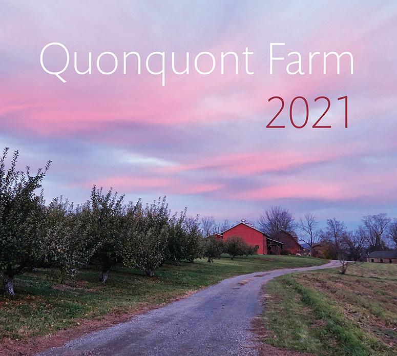 Quonquont Farm 2021 Wall Calendar