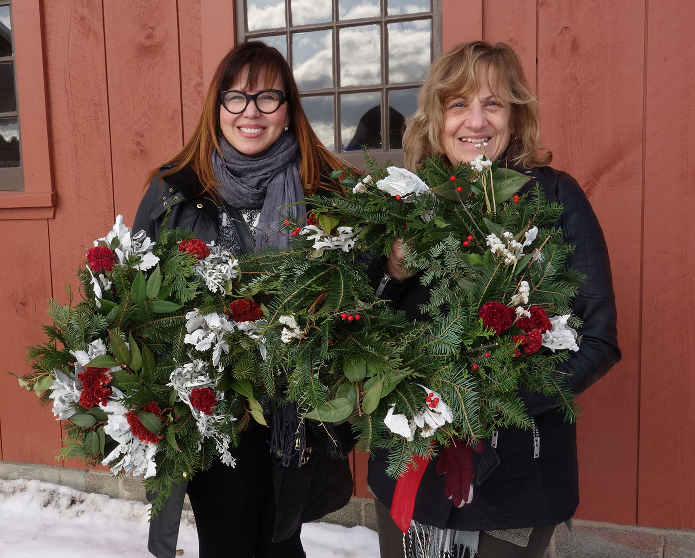 Winter Wreath Making–Morning Session