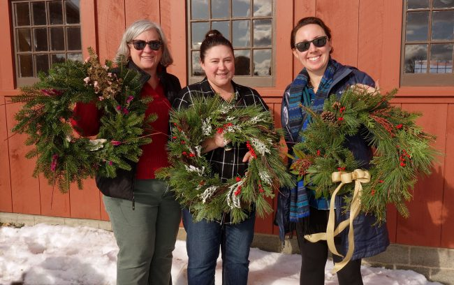 Winter Wreath Making–Afternoon Session